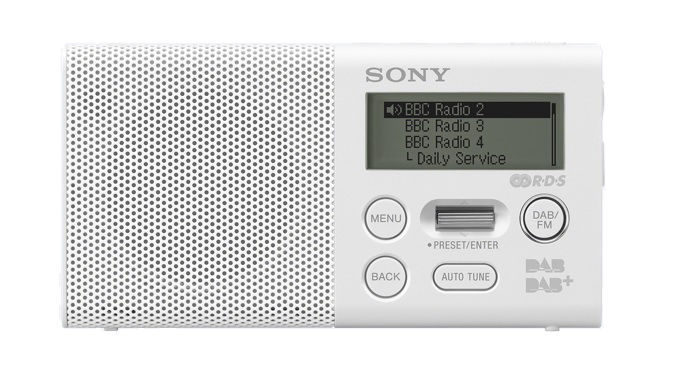 Sony XDR-P1DBP - DAB+ radio - Wit