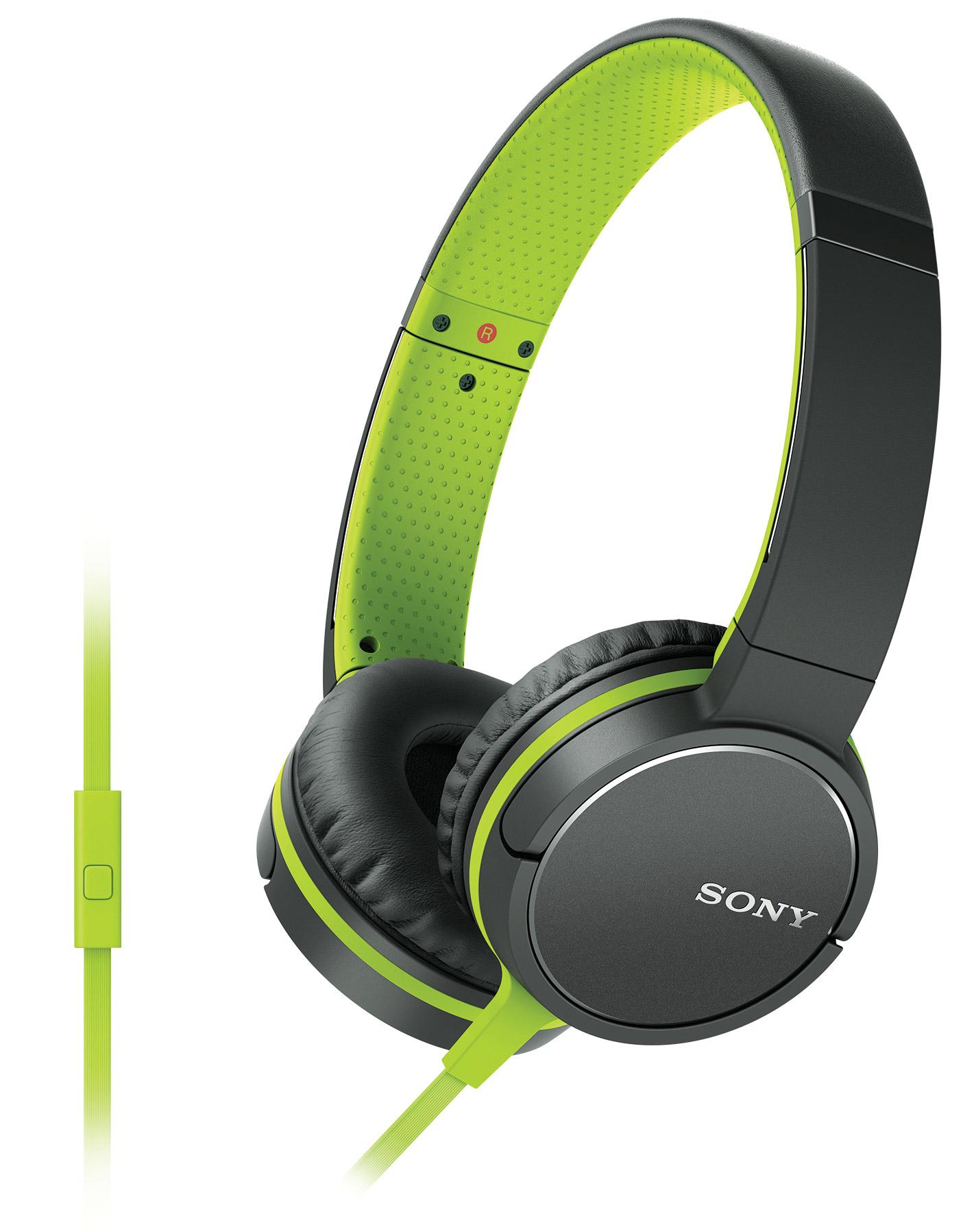 Sony MDR-ZX660AP - On-ear koptelefoon - Groen