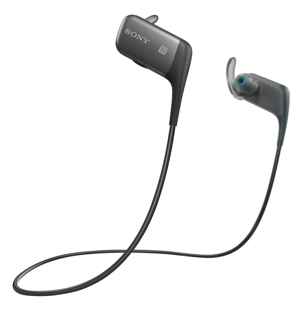 Sony MDRAS600 BT zwart