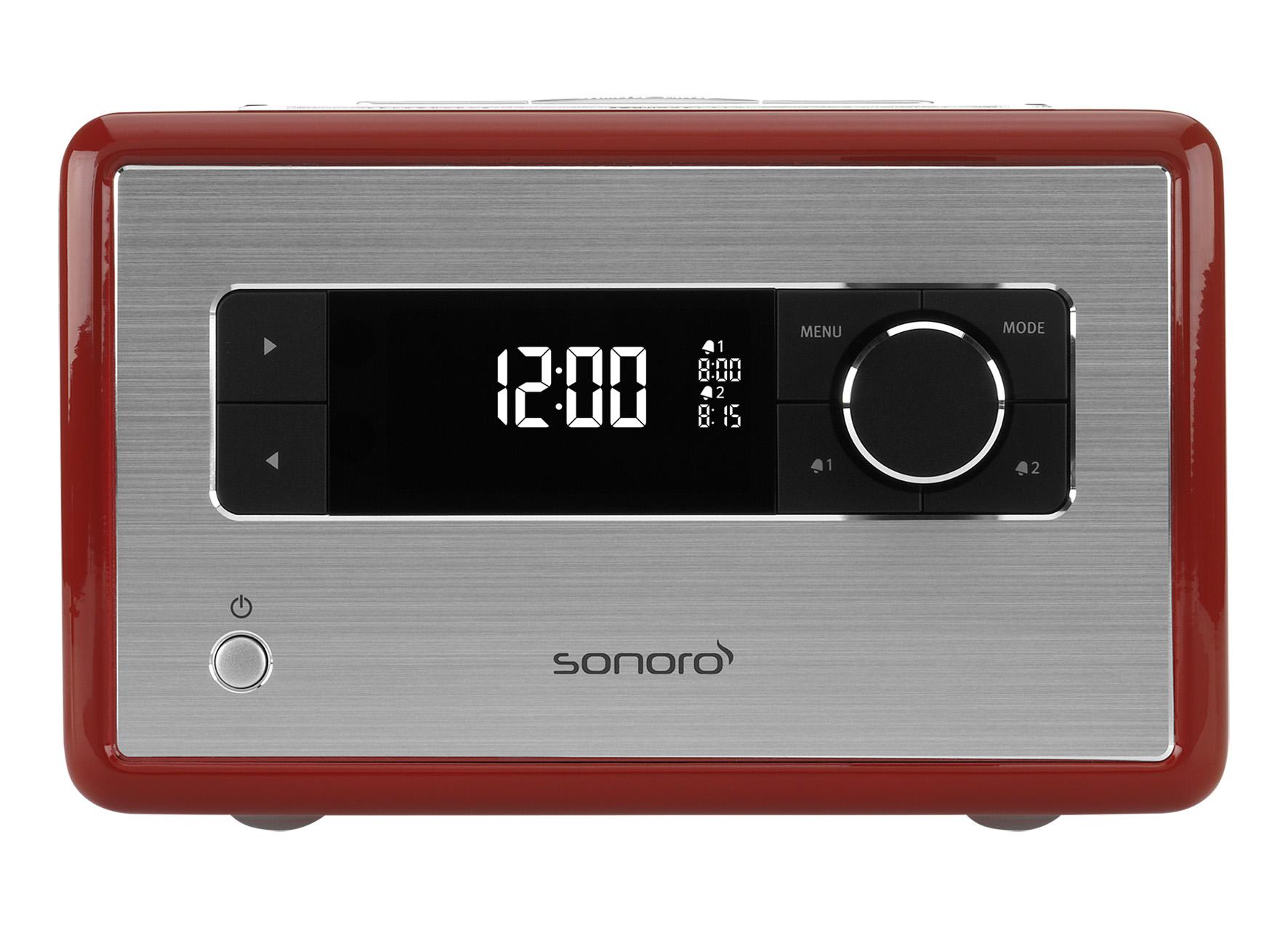 Portable Radio Sonoro SO110 rood 4260117323676