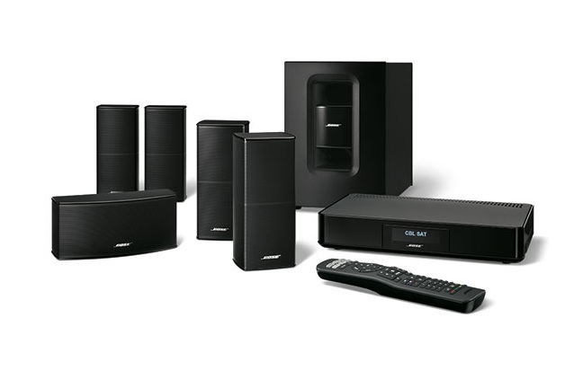 Bose Cinemate 520 Homecinema zwart
