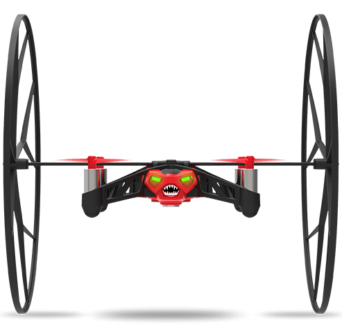 Parrot Minidrones Rolling Spider rood