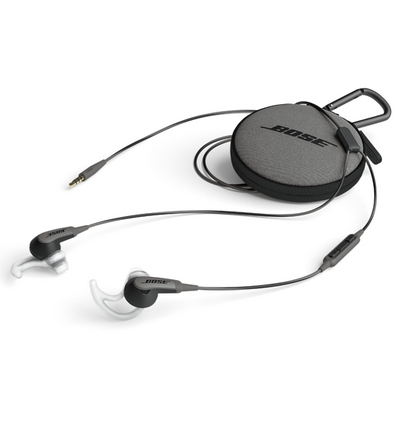 Bose SoundSport in-ear oordopjes - zwart