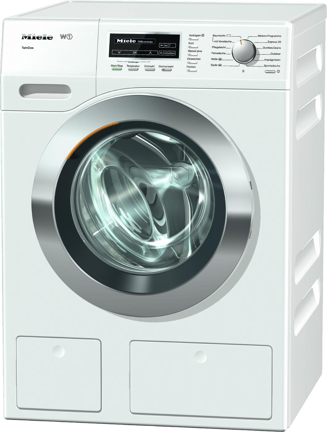 Miele WKL 130 WPS Twindos wasmachine