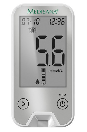 Image of Medisana bloedglucosemeter Meditouch 2 Connect MMOL/L
