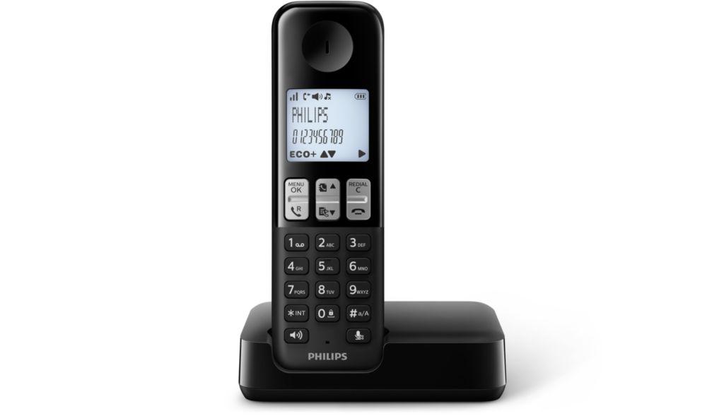 Telefoon (Dect) Philips D2301BIT en Telecom 4895185611112