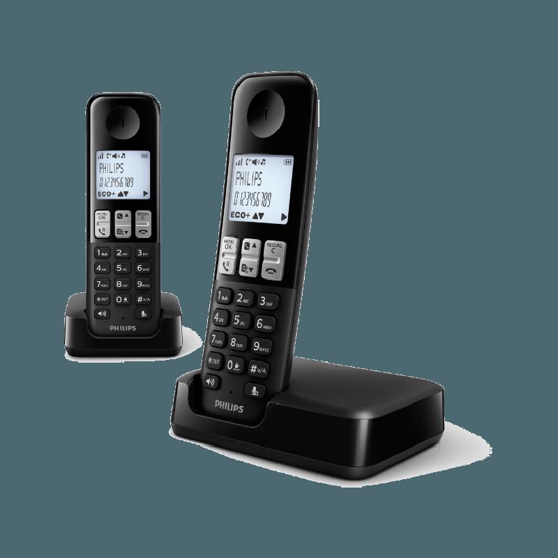 Telefoon (Dect) Philips D2302BIT en Telecom 4895185611181