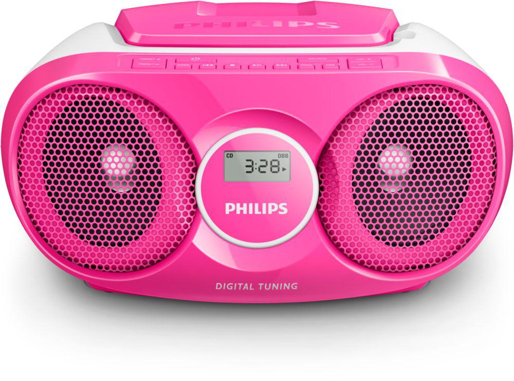 Philips AZ215C - Radio/Cd-speler - zwart