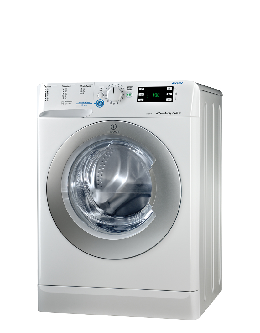 Indesit XWE81484XWSS Wasmachine