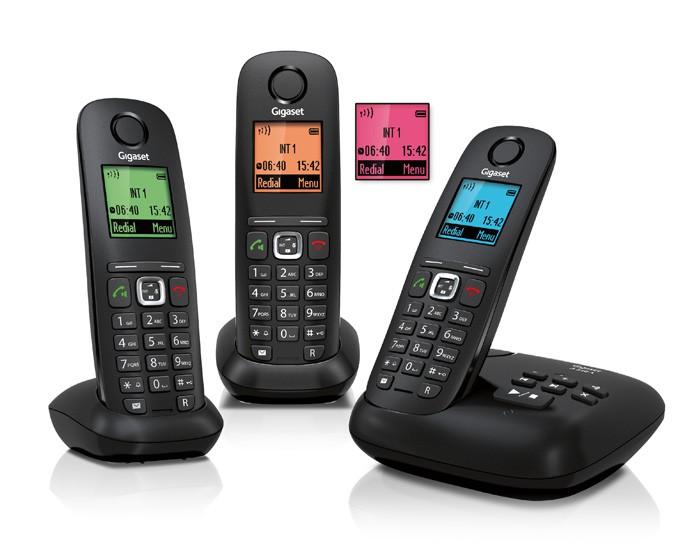 Telefoon (Dect) Gigaset A540A TRIO zwartIT en Telecom 4250366841540