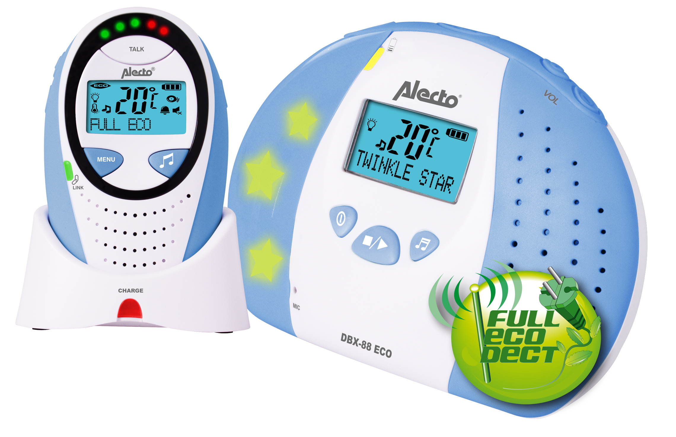 Image of Alecto babyfoon DBX-88 ECO