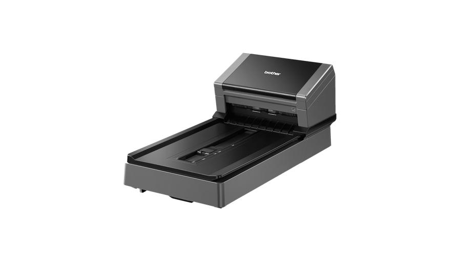 Brother Desktopscanner flatbed dz scannen 80ppm(dubbelzijdig zwart-wit/kleur) (PDS-6000F)