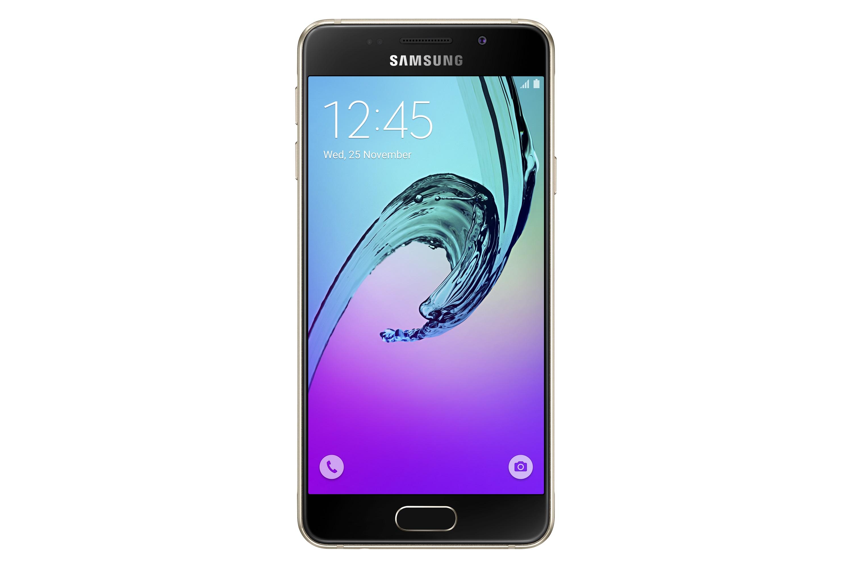 Samsung Galaxy A3 (2016) smartphone - goud