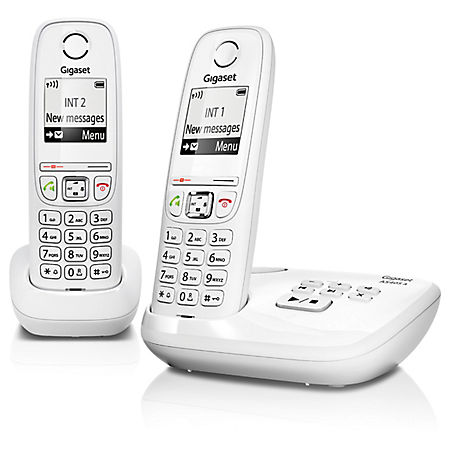 Telefoon (Dect) Gigaset AS405A DUO witIT en Telecom 4250366846262