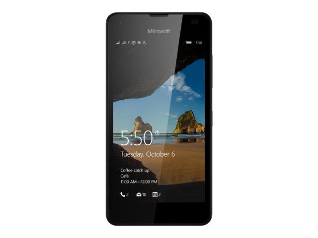 Microsoft Lumia 550 smartphone - zwart