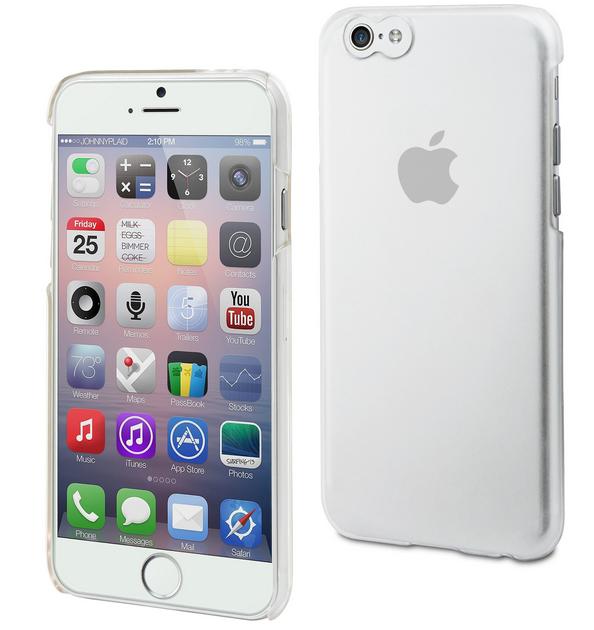 Muvit Back Case Apple iPhone 6 Plus Transparant