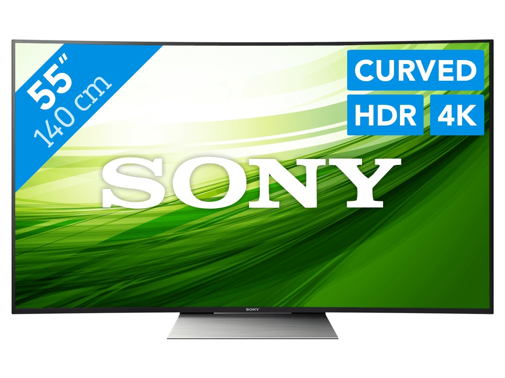 Sony KD55SD8505 curved android TV thumbnail