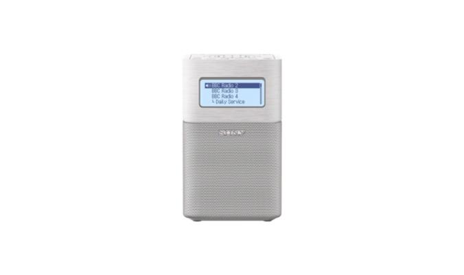 Portable Radio Sony XDR-V1BTD wekkerradio met Bluetooth - wit 4548736031920