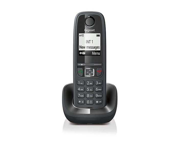 Telefoon (Dect) Gigaset AS405 zwartIT en Telecom 4250366846293