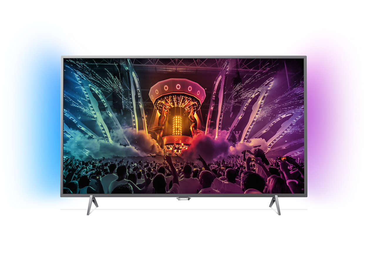 Philips 43PUS6401/12 AMBILIGHT SMART TV thumbnail