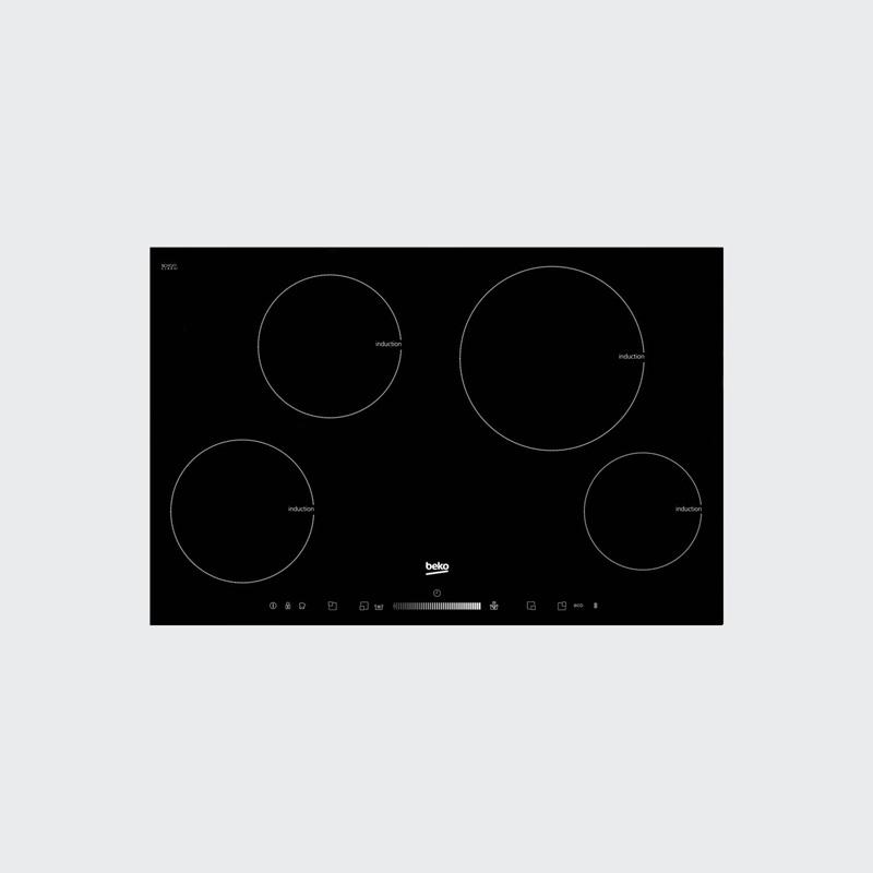 Image of Beko HII 84501 HT Ingebouwd Inductie Zwart
