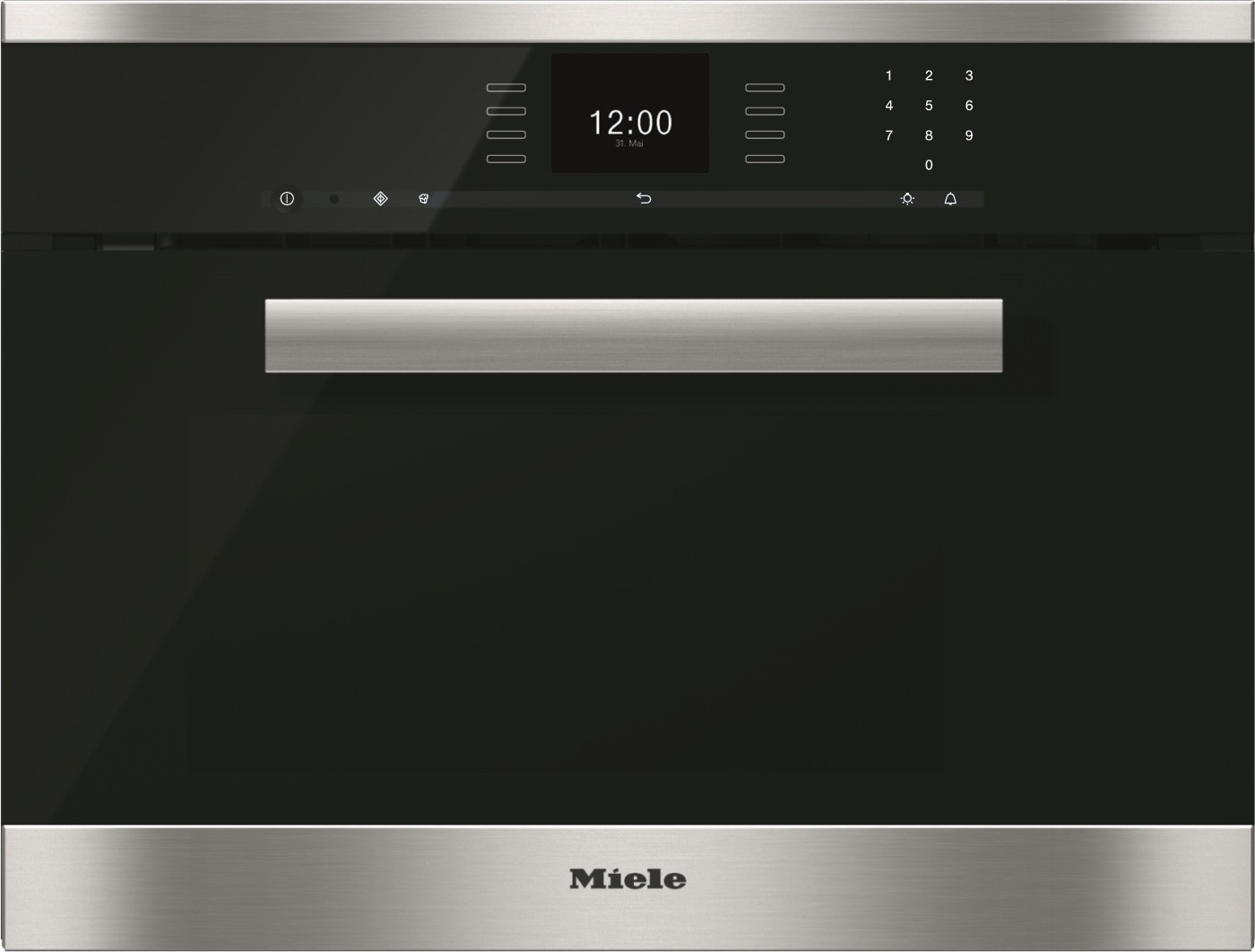 Image of Miele DGM 6600 roestvrij staal