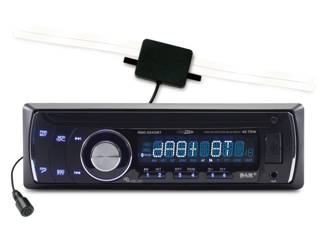 Image of Caliber Audio Technology RMD 234DBT Autoradio enkel DIN 4 x 75 W USB, SD, Jackplug, Bluetooth