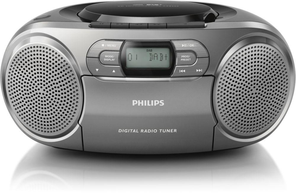Portable Radio Philips AZB600-12 4895185603537