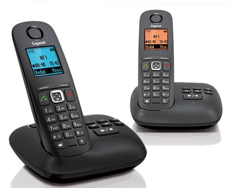 Telefoon (Dect) Gigaset A540A DUO zwartIT en Telecom 4250366841533