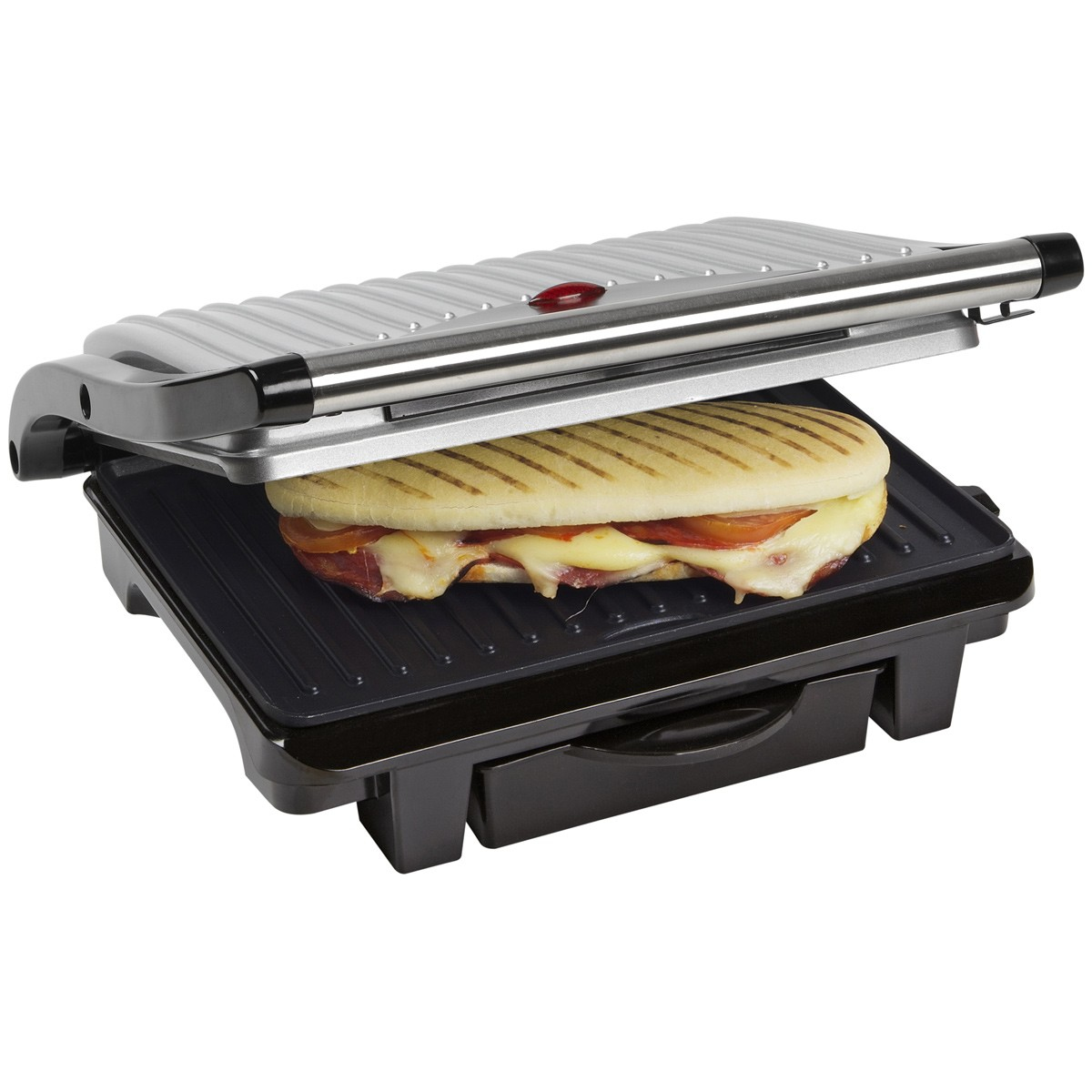 Image of Bestron Asw113 - Panini Grill - Grijs