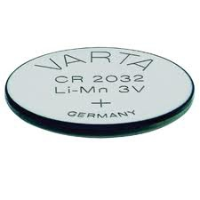 Image of Varta PROFESSIONAL 6032 CR2032 Lithium 3V Bls 1