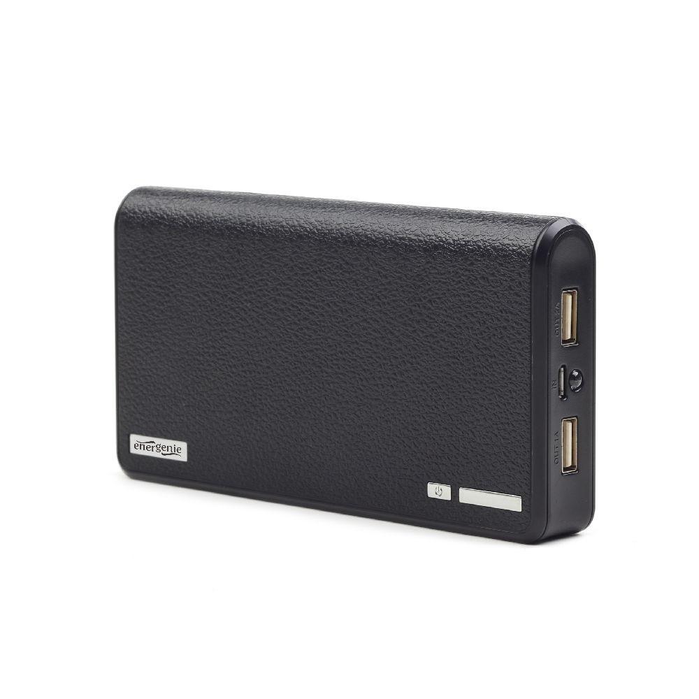 Image of 2x USB - Zwart - 12.000 mAh - Gembird
