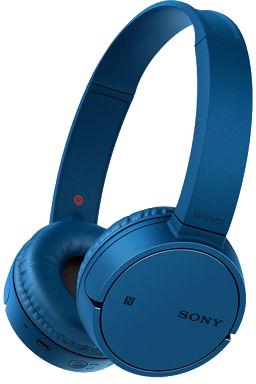 Image of Bluetooth Koptelefoon Sony On Ear Headset, Zwenkbare oorschelpen Blauw