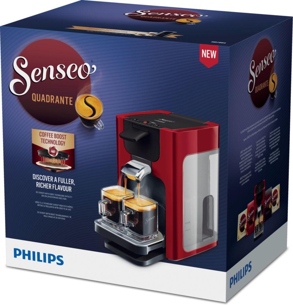 Philips Senseo Quadrante HD7865-80 Rood