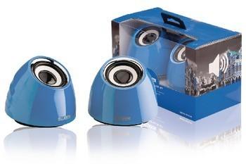 Image of 2.0 speakerset USB voeding 2x 3 W draagbaar blauw
