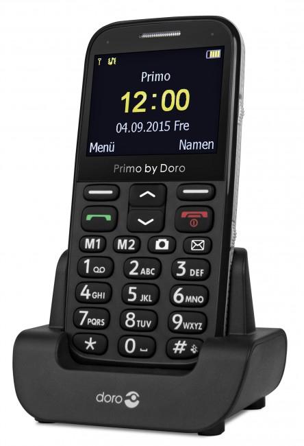 Telefoon (Dect) Doro PRIMO 366 zwartIT en Telecom 4260117673023