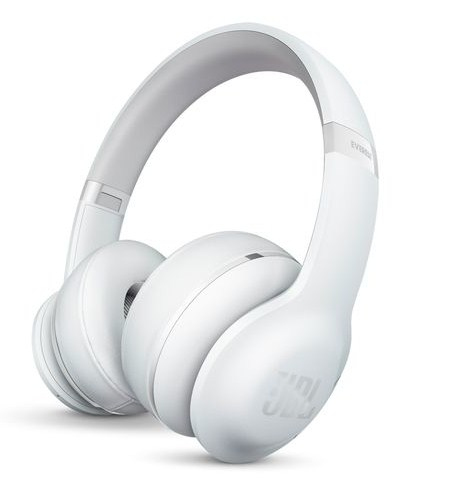 Image of Bluetooth Koptelefoon JBL Harman Everest 300 On Ear Vouwbaar, Headset Wit