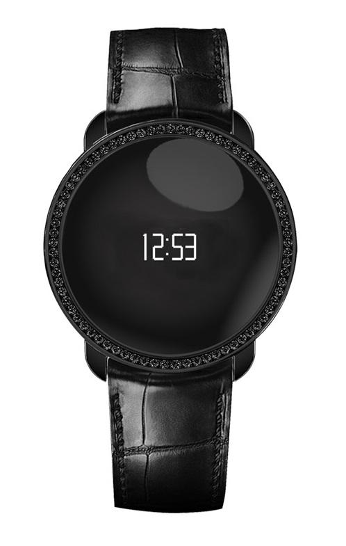 Smartwatch MyKronoz ZeCircle Activiteitsmeter Swarovski zwartIT en Telecom 7640158011218