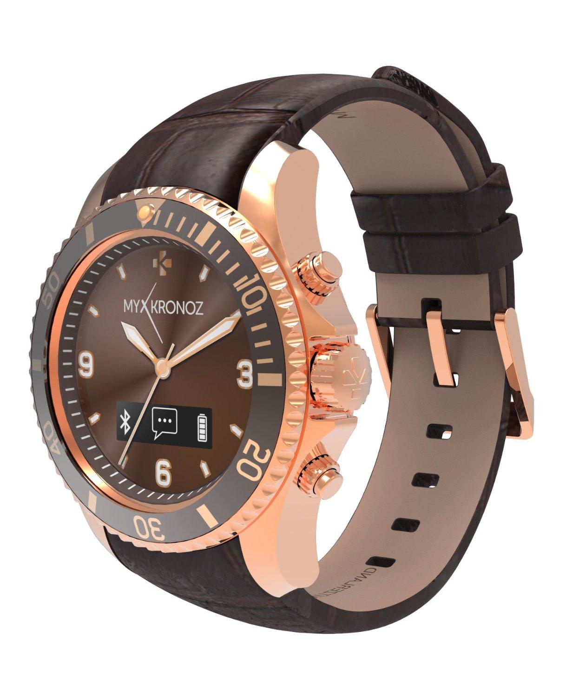 MyKronoz Smartwatch ZeClock - premium - roze/goud
