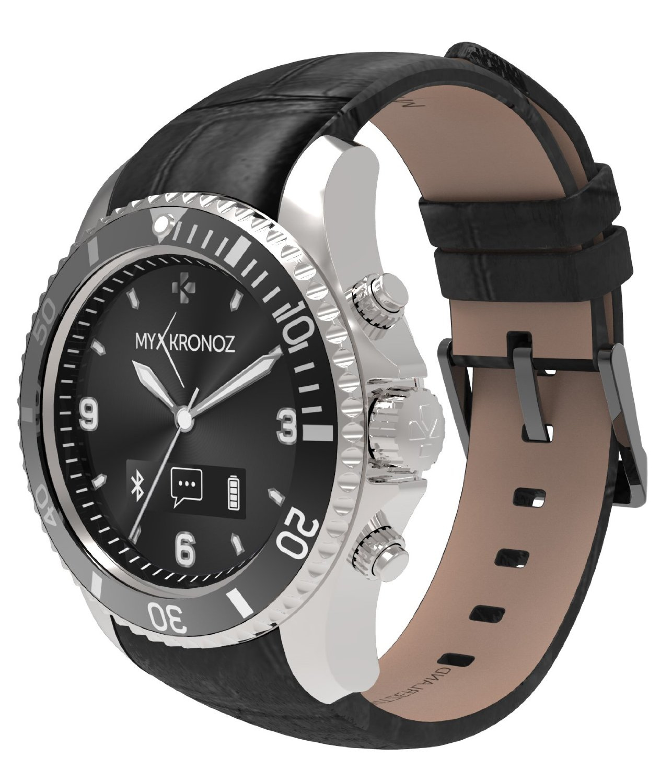 MyKronoz Smartwatch ZeClock - premium - zilver