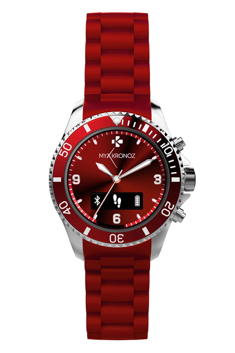 MyKronoz Smartwatch ZeClock - rood