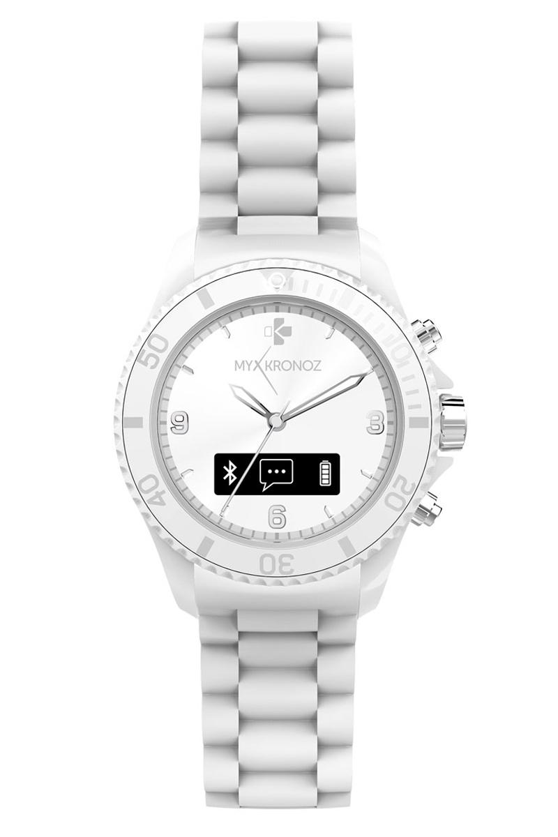 MyKronoz Smartwatch ZeClock - wit