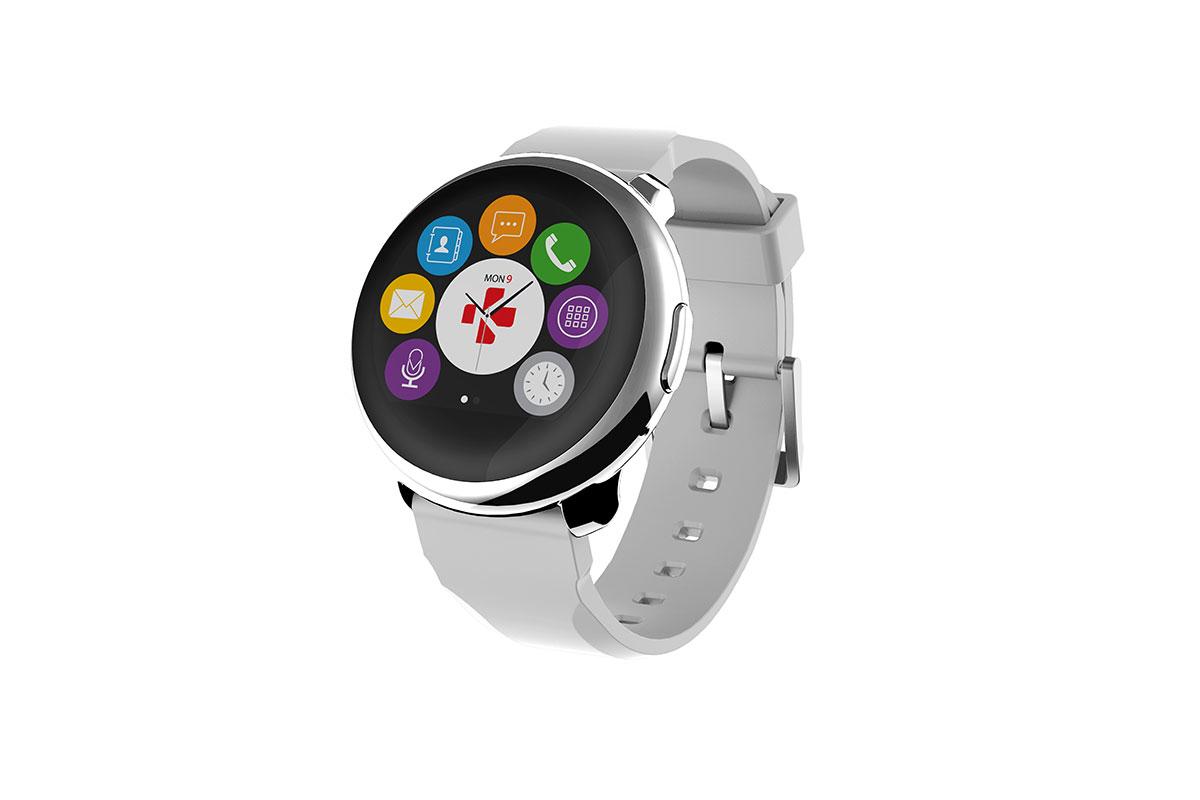 Smartwatch MyKronoz ZeRound zilver witIT en Telecom 7640158011300