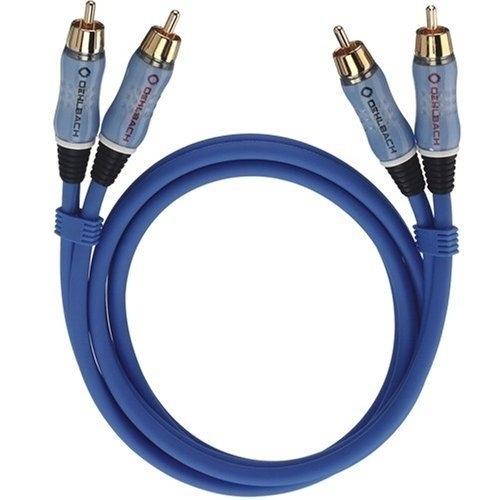 Image of Oehlbach 2702, Beat! 2xrca/2xrca kabel, m/m, 2m, blauw