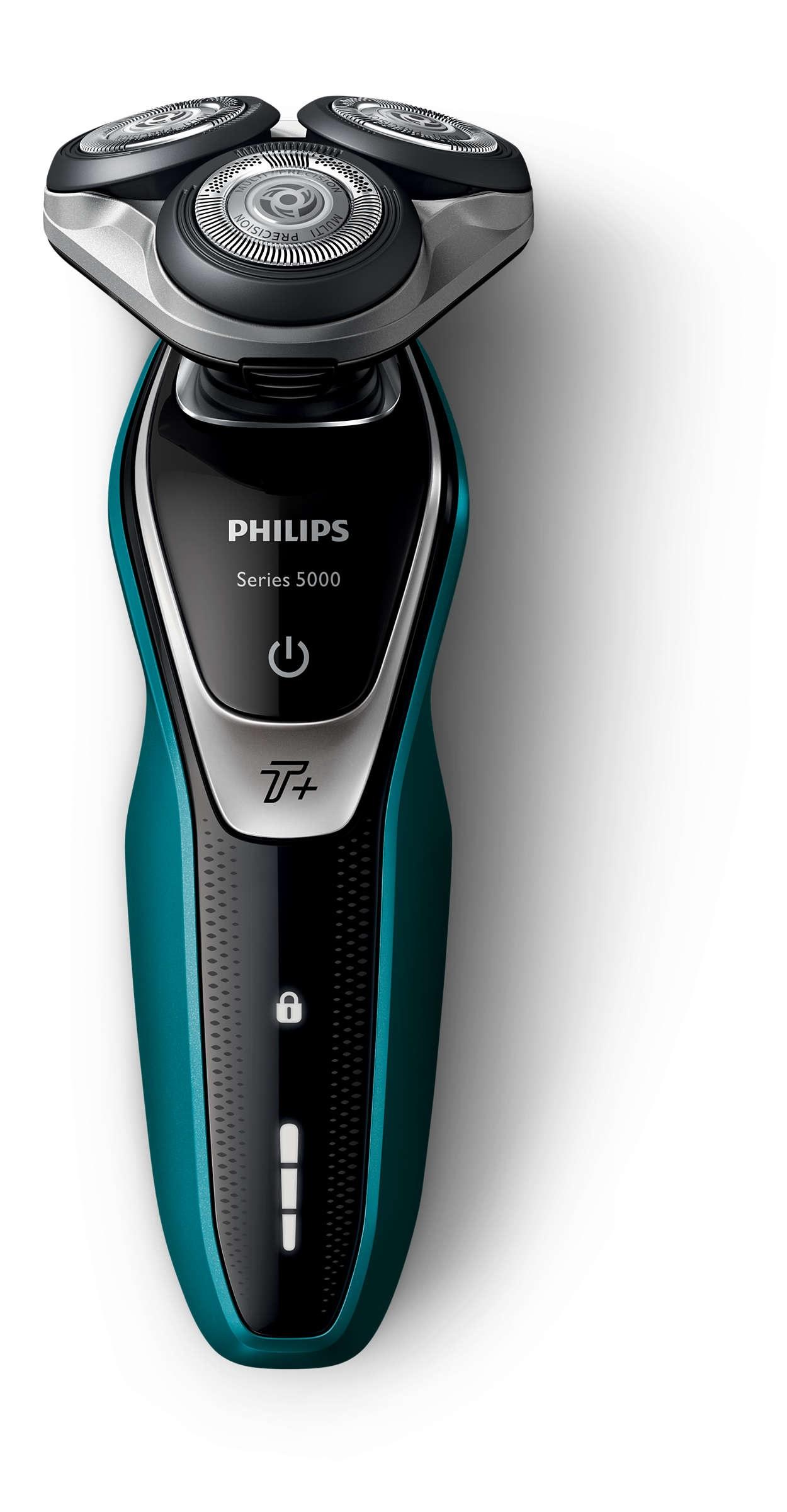 Foto Philips S5550/06 zwart/groen