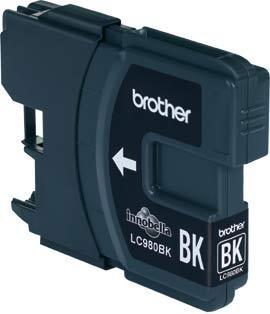 Image of Brother Cartridge Black Lc980Bk