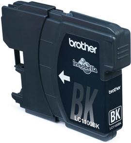 Image of Brother Cartridge LC-1100BK (zwart)