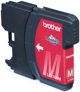 Image of Brother Cartridge Lc1100M Magenta
