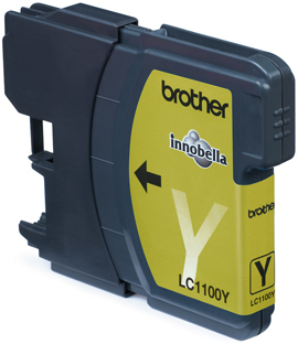 Image of Brother Cartridge Lc1100Y Yellow